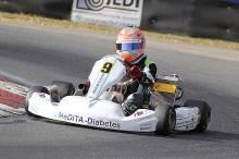 Jan Vincent Stolle war zum ersten Mal in der Klasse KF3 unterwegs