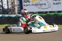 Der RBM-Schützling lieferte sich in den Rennen spektakuläre Zweikämpfe