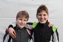 Die RBM-Schützlinge Benedict und Jan-Vincent Stolle