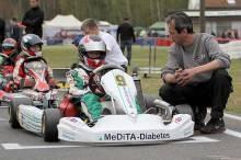 Jan-Vincent mit seinem Teamchef Ralf Braaz im Vorstart