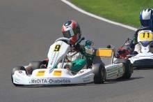 Jan-Vincent Stolle konnte beim Saisonauftakt der ADAC Kart Masters viel lernen